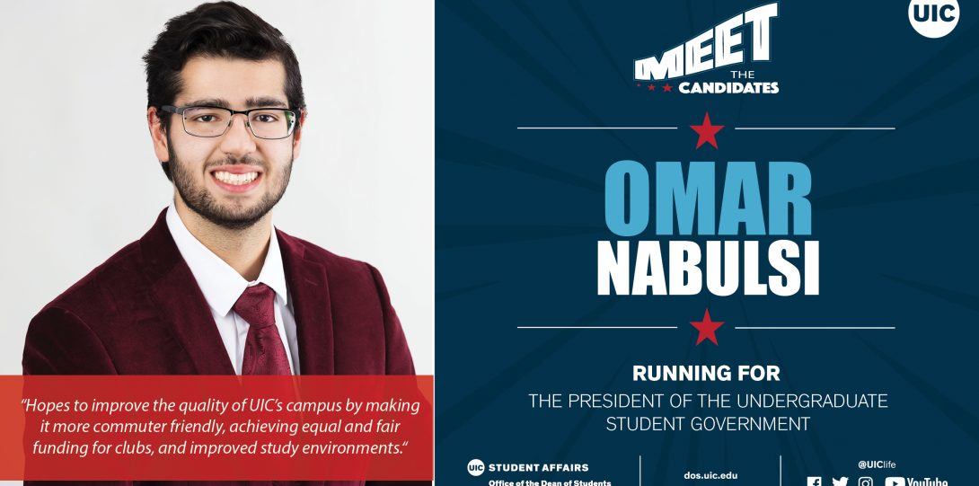 headshot photo of candidate running for Pres of USG