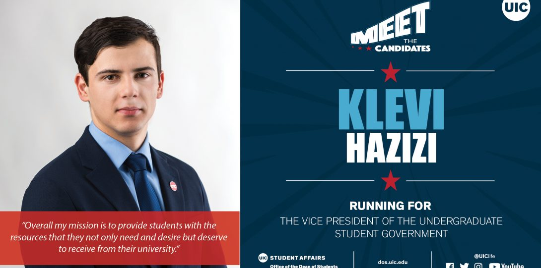headshot photo of candidate running for VP of USG