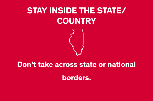 Stay Inside the State/Country