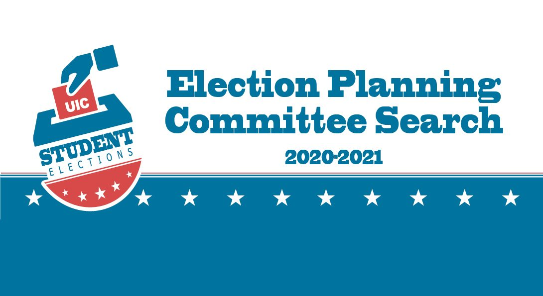 Ballot box and text that reads: Election Planning Committee 2020-2021
