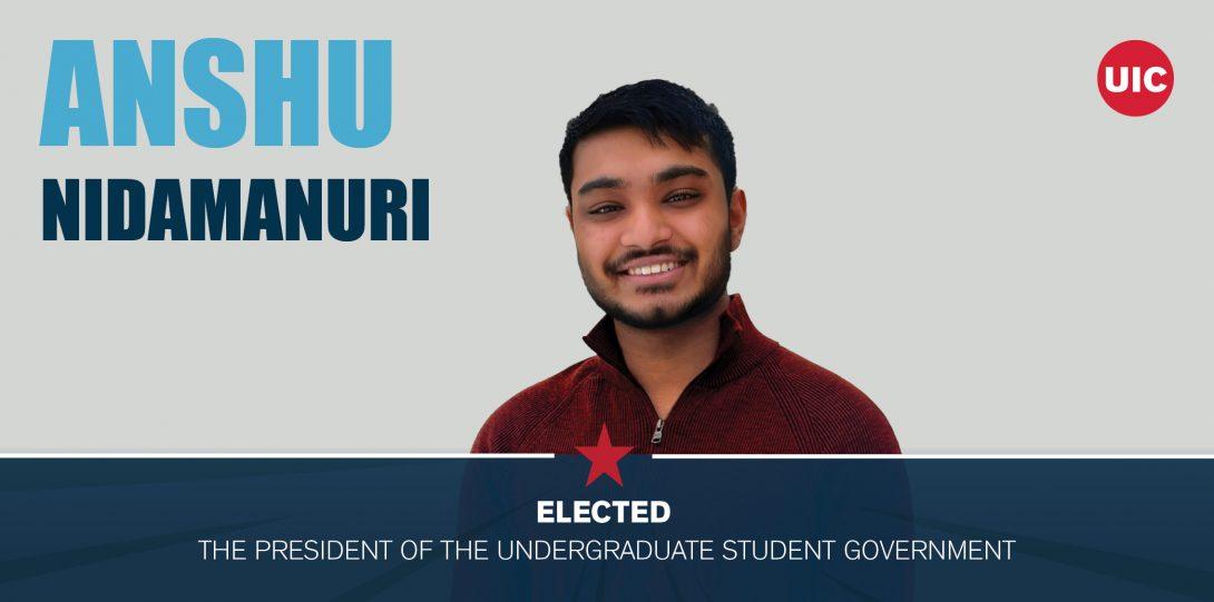 image of elected official - Anshu Nidamanuri