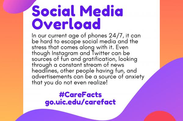 Text: Social Media Overload