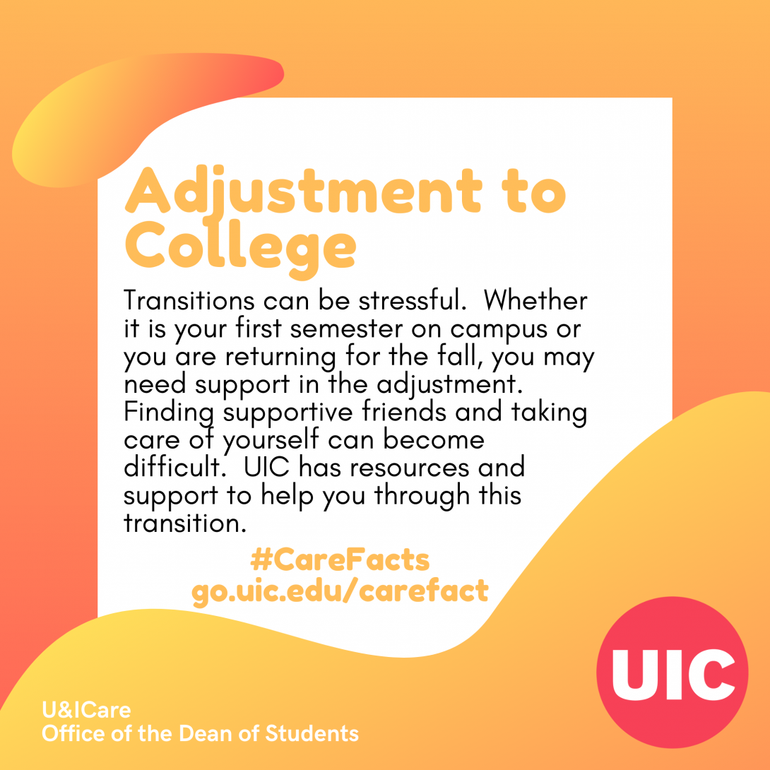 TEXT: Adjustment to College