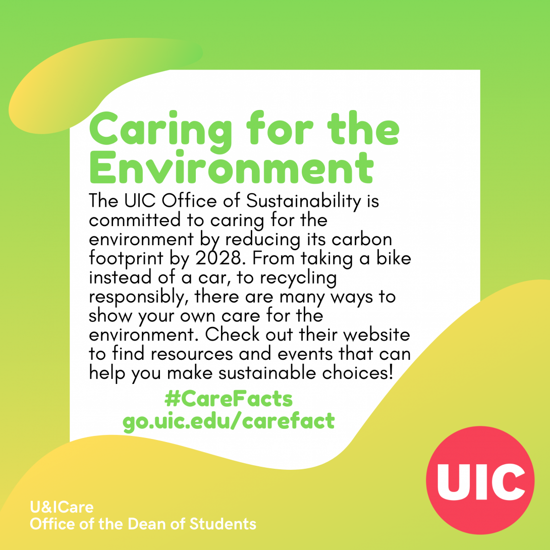 TEXT: Caring for the Environment