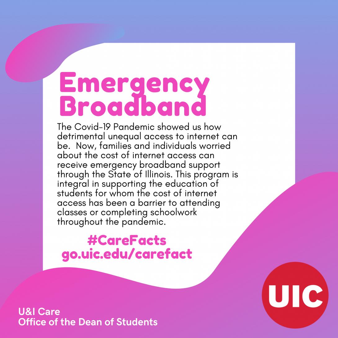 TEXT: Emergency Broadband