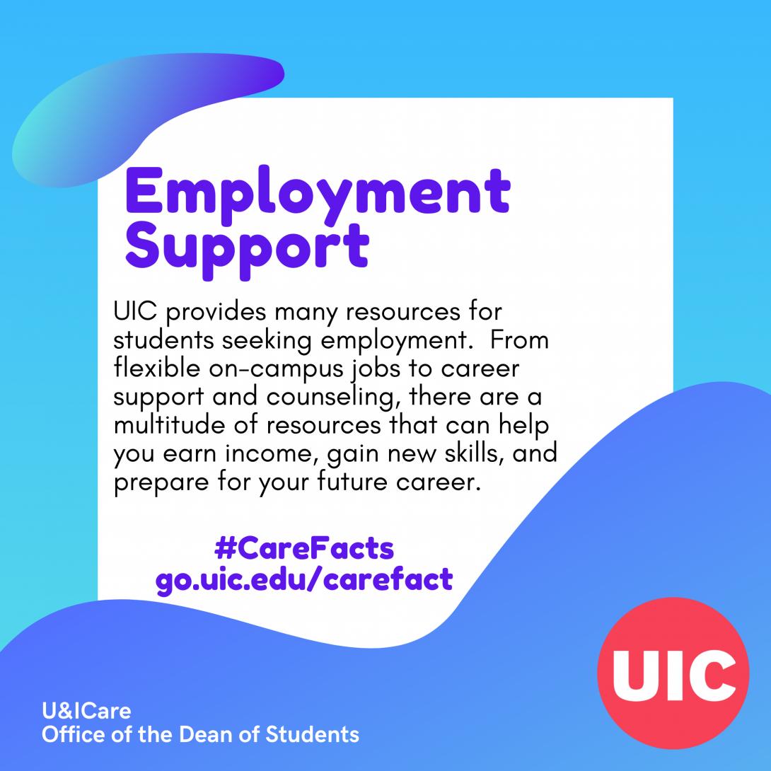 Text: Employment Support